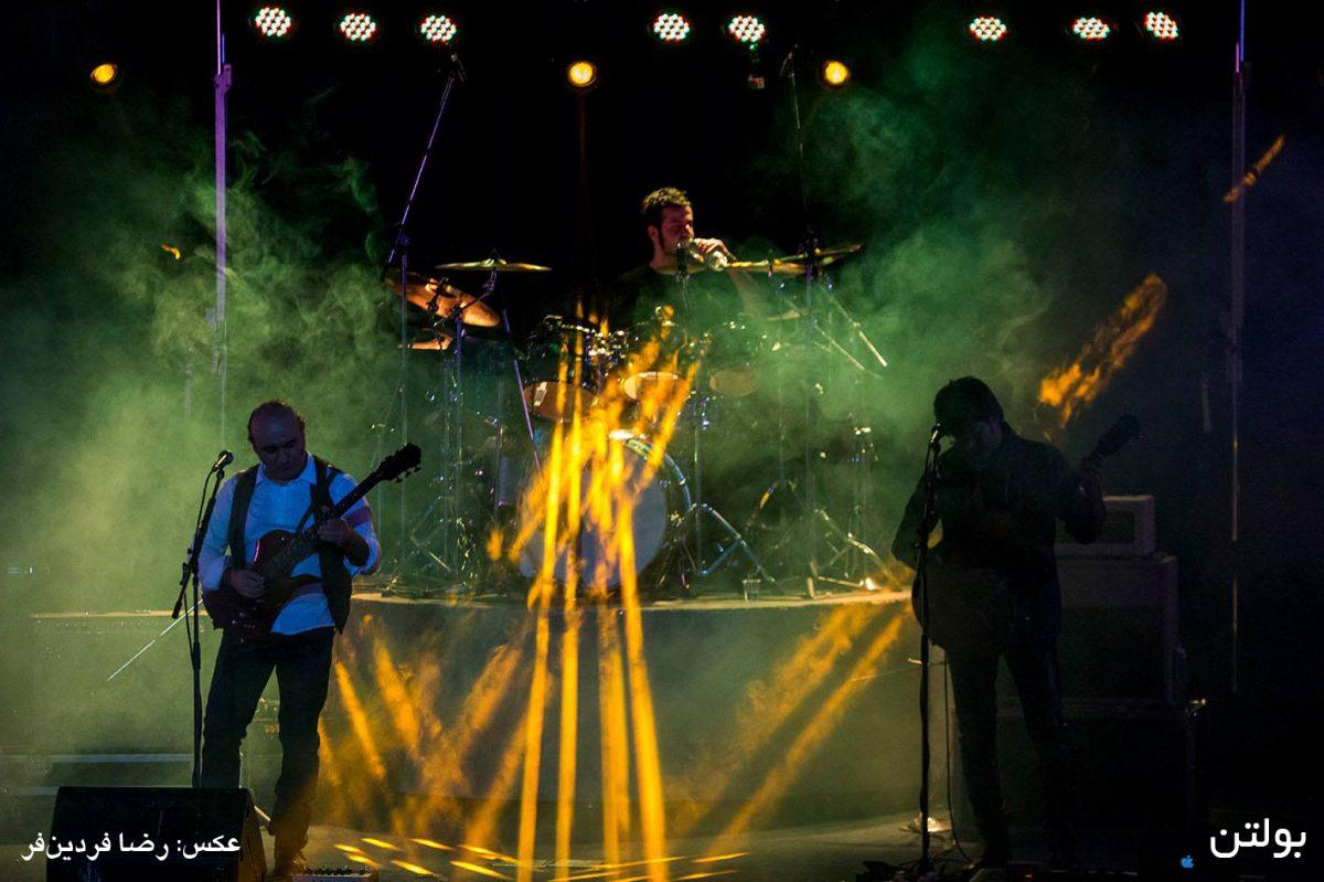 گزارش کنسرت گروه زیتون