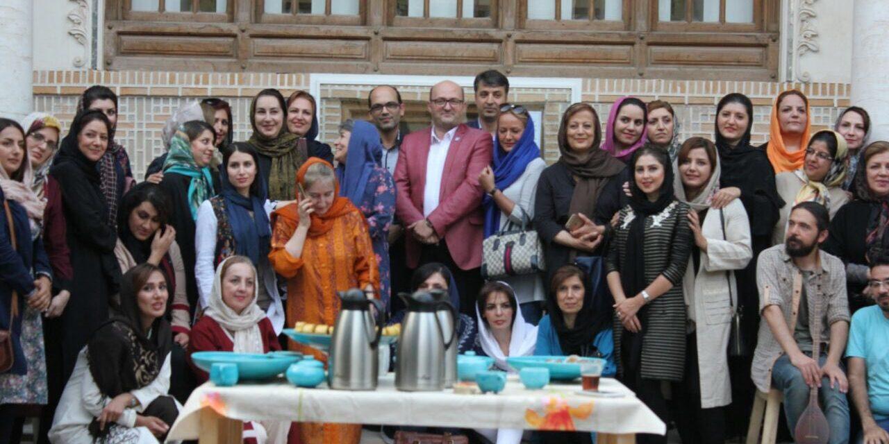 جشن دوازدهمین سالروز افتتاح موزه زنده سفال تبریز برگزار شد.