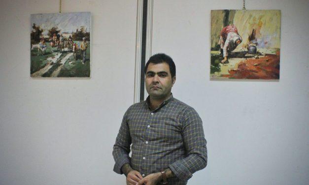 نمایشگاه آثار نقاشی علی شریفی