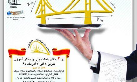 مسابقات کشوری سازه ماکارونی کاپ آذربایجان