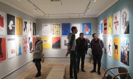 گزارش بولتن از نمایشگاه یکصد پوستر برای زندگی مسالمت آمیز در گالری فرهنگسرای هنری کیاوش