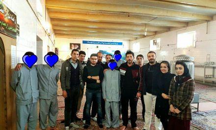 نمایش کمدی خیریه گروه سیروان، در مرکز اقامتی (کمپ ترک اعتیاد) نجات، زیر نظر کانون فرهنگی هنری آل اطهار تبریز برگزار شد.
