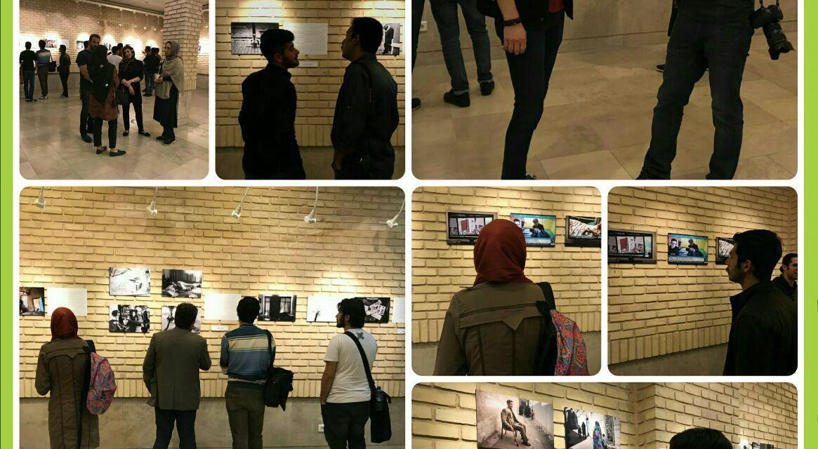 گزارش تصویری نمایشگاه گروهی تجربه نوشتاری عکس