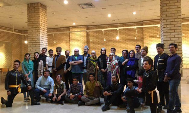 مصاحبه با امیر حجازی به همراه گزارش تصویری از تمرینات نمایش سارای