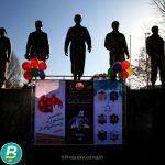 گزارش تصویری از سه نمایشگاه هنری در حد فاصل فردوسی تا دارایی در طول راهپیمایی ۲۲ بهمن
