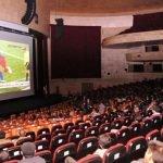 پخش زنده مسابقات فوتبال جام جهانی در سینماهای تبریز