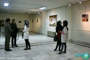 نمایشگاه نقاشی علی شریفی (1)