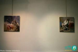 نمایشگاه نقاشی علی شریفی (2)