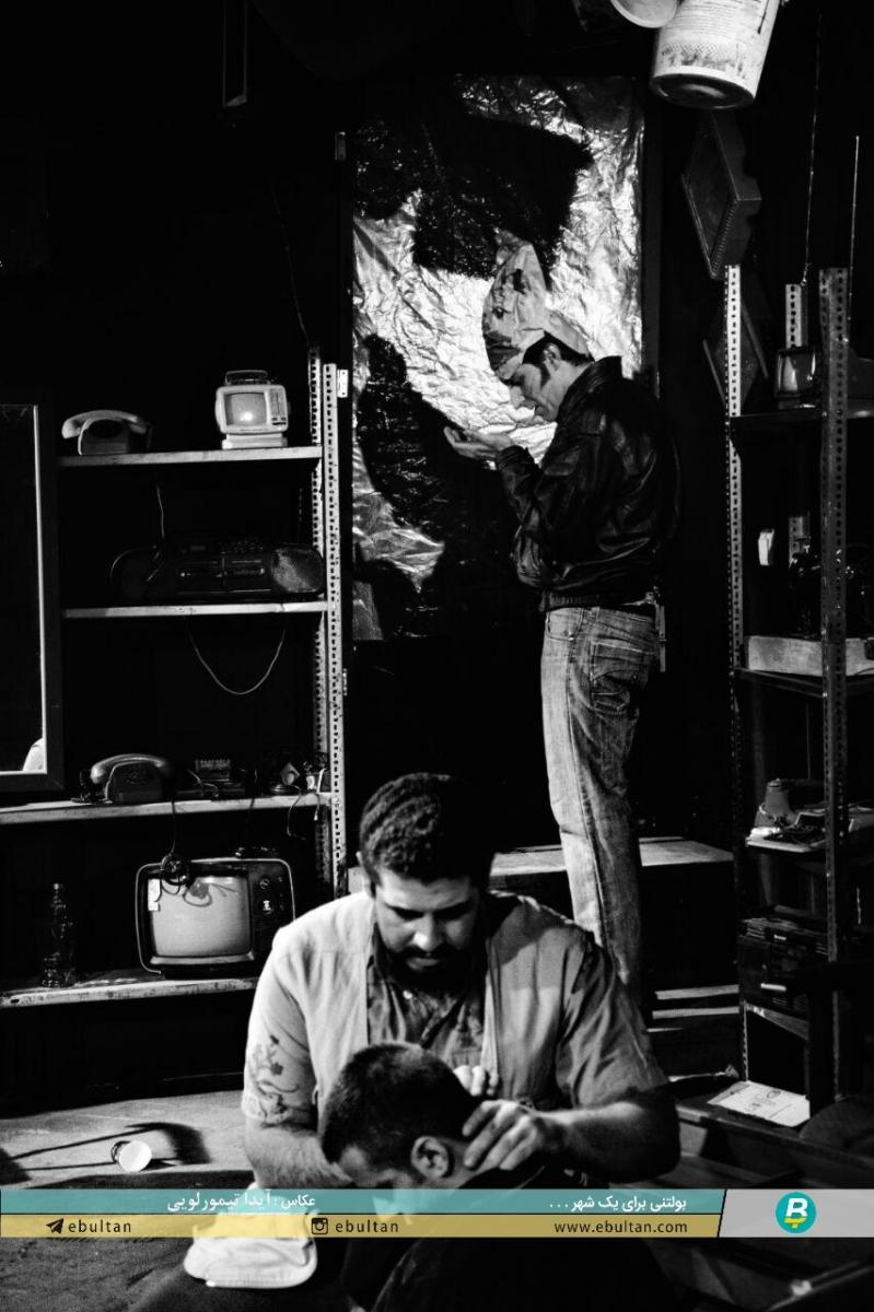 نمایشنامه های کوتاه بدون دیالوگ گزارش تصویری از نمایش بوفالوی آمریکایی و یادداشتی بر این ...