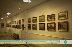نمایشگاه نقاشی جلیل مکبر 1
