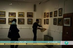 نمایشگاه نقاشی جلیل مکبر 5