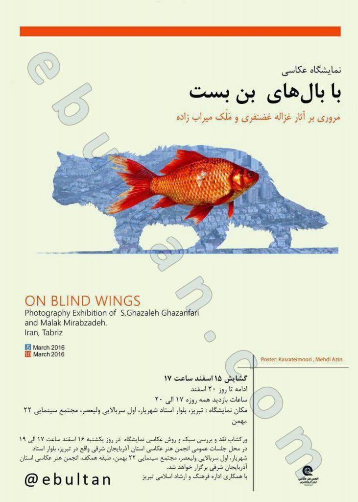 نمایشگاه عکاسی با بالهای بنبست