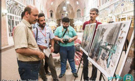گزارش تصویری افتتاحیه نمایشگاه عکس زندگی در بازار تبریز