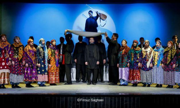 گزارش تصویری نمایش آنایوردوم آذربایجان