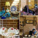 نمایشگاه صنایع دستی در خانه مشروطه تبریز