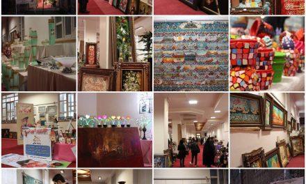 نگاهی به نمایشگاه محصولات هنری در نگارخانه دانشگاه هنر اسلامی تبریز