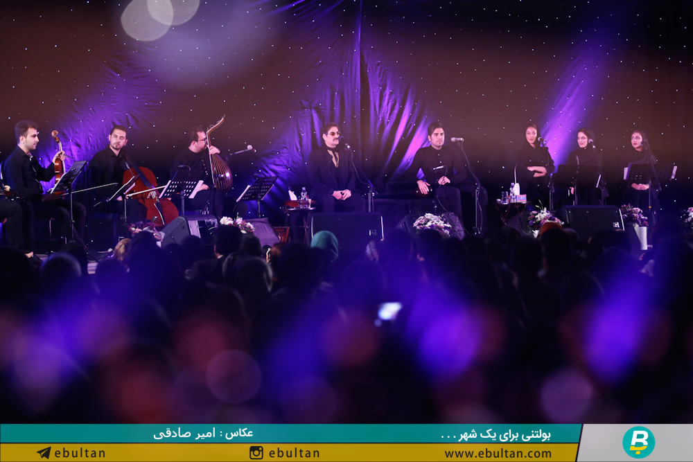 کنسرت شهرام ناظری در تبریز1